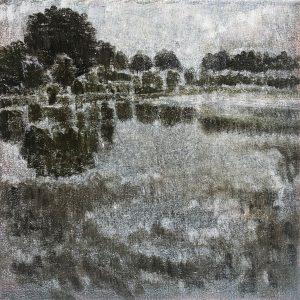 Henrie Vogel - Polderlandschap VII
