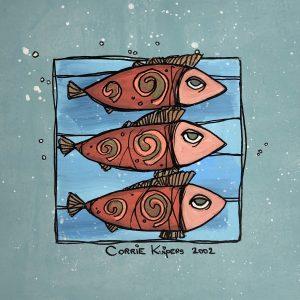 Corrie Kuipers - Drie vissen