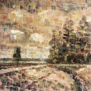 Henrie Vogel - Polderlandschap VIII