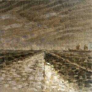 Henrie Vogel - Polderlandschap IX