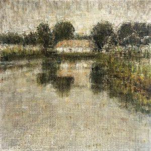 Henrie Vogel - Polderlandschap XII