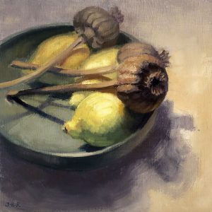 Janey Robertson - Lemon Poppey