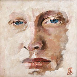 Cees Kaspersma - Ogen II