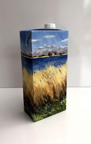 Bart Bosma - Melkpak met Fries landschap IX