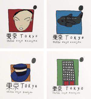 Anje Roosjen - TOKYO (creatief doosje)