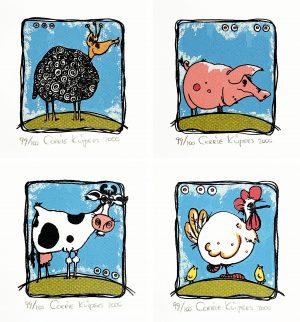 Corrie Kuipers - Het geplaagde dier (creatief doosje)