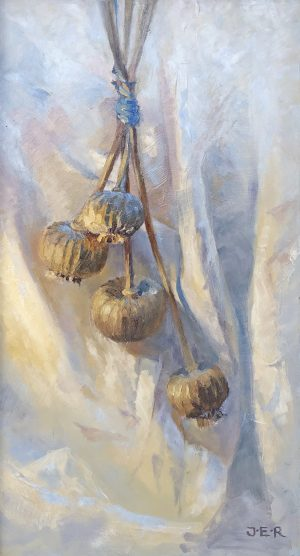 Janey Robertson - Dried poppies