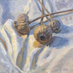Janey Robertson - Three poppies