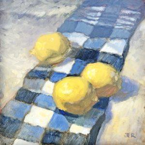 Janey Robertson - Three lemons