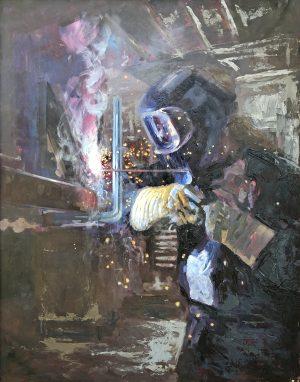 Janey Robertson - Welder